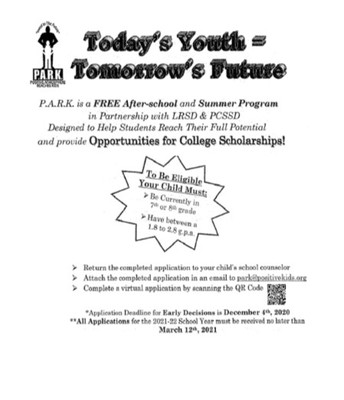 P.A.R.K. Outreach Program