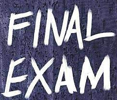 6th-Grade Final Exams information and schedule