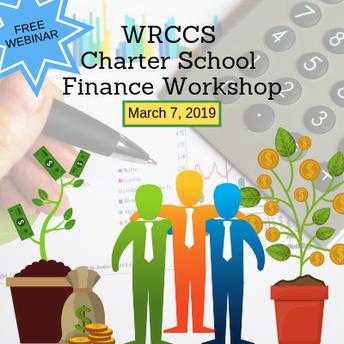 WRCCS Charter School Finance Workshop