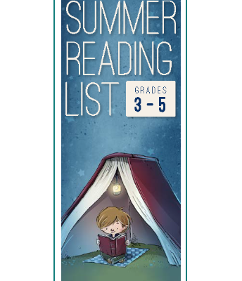 3-5 Summer Reading List