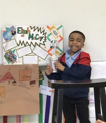 First grade presentations