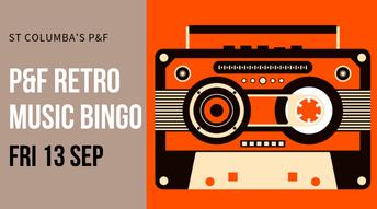 Retro Music Bingo - Friday 13 September