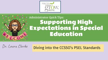 Supporting High Expectations in Special Education