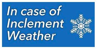 INFORMACION SOBRE CLIMA INCLEMENTE