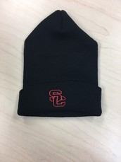 Knit Hat-Black