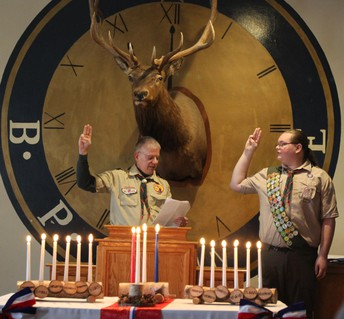 Eagle Scout Rank Achieved by NHS Senior, Tyler Blair!