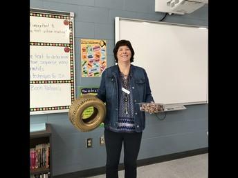 October Tireless Teacher Award Winner