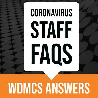 Coronavirus Staff FAQs