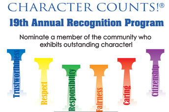 Bloomingdale Character Counts Nomination
