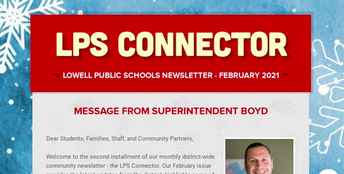 """The LPSD """"Connector"""" District Newsletter"""