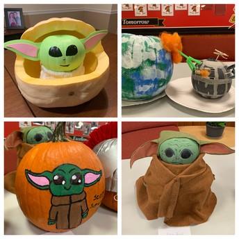 Pumpkin Contest Entries