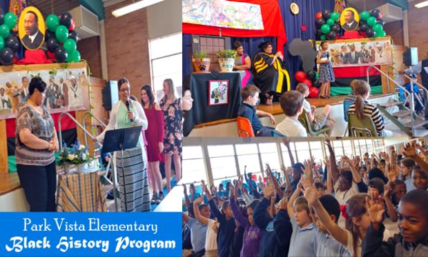 Park Vista Elementary Black History Program