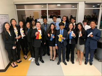 Del Norte Claims Awards at DECA Conference