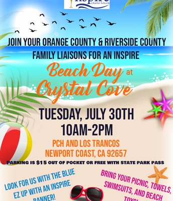 Inspire's Summer Beach Days! CRYSTAL COVE