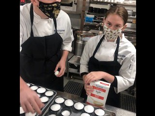 Culinary Students Cure Eggs for Savory Garnish