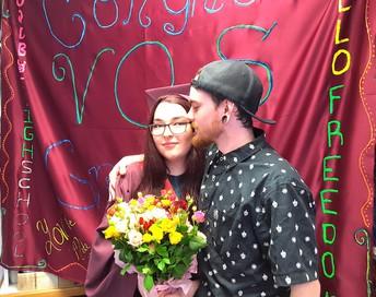 Congratulations!... graduate Lydia Williams!