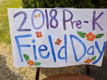 Pre-K Had Their Own Field Day!