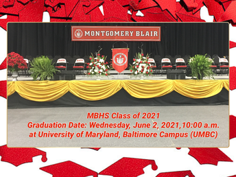 The Graduation Date for MBHS Class of 2021