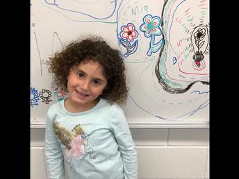 Drawing Flowers in Kindergarten