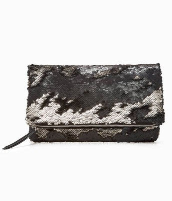 Margeaux clutch Black/pewter