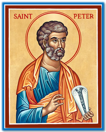 Saint Peter: Feast Days-February 22 and June 29
