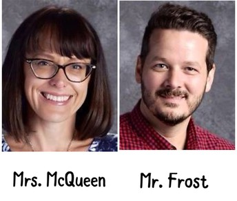Mrs. McQueen - Mr. Frost