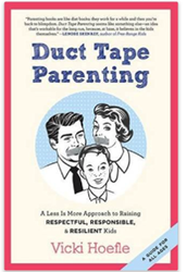Parent Teacher Book Club - Duct Tape Parenting by Vicki Hoefle