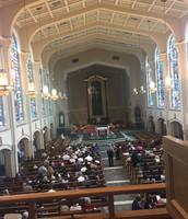 MC Advanced Choir Sings at Chrism Mass in Rockford!
