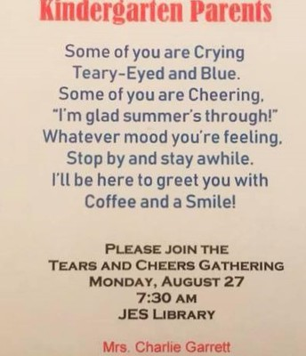 Tears and Cheers