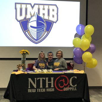 Caroline Perry Signs with UMHB for Acro and Tumbling!