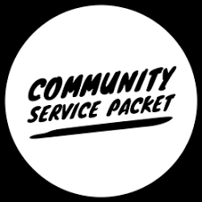 Community Service Packet for Juniors