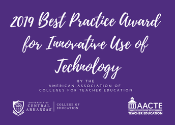 2019 American Association of Colleges for Teacher Education (AACTE) Best Practice Award: