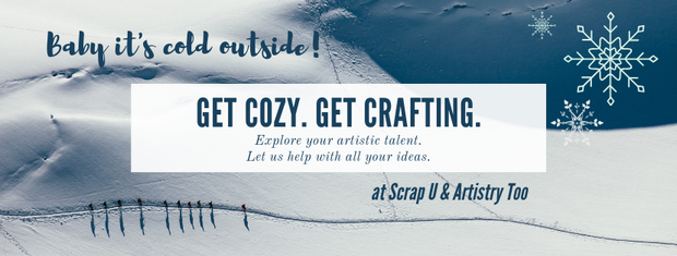 Check our Scrap U & Artistry Too - our December PTO Sponsor!