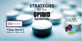 """Foundation and DEA to co-host """"Opioid Epidemic"""" event on March 5"""