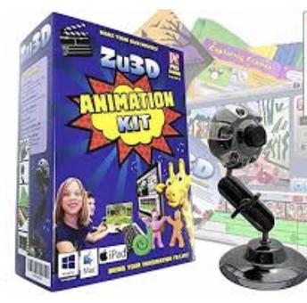 Zu3D Stop Motion Animation