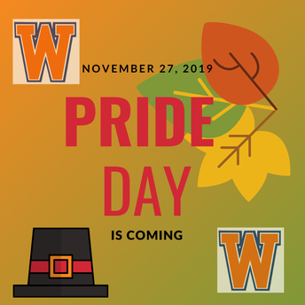 Walpole High School Pride Day - November 27th