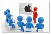 STAFF ATTENDS APPLE TRAINING