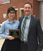 Jenny Kim Receives Award