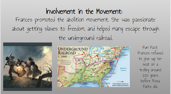 Abolitionist Profiles: 6&7 Gr. RMS Library Media