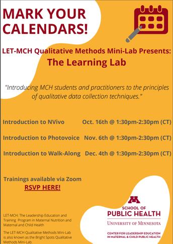 6.  Qualitative Methods Mini-Lab Series: Introduction to NVivo
