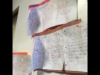 Literacy Squared - el Dictado Student Work Samples