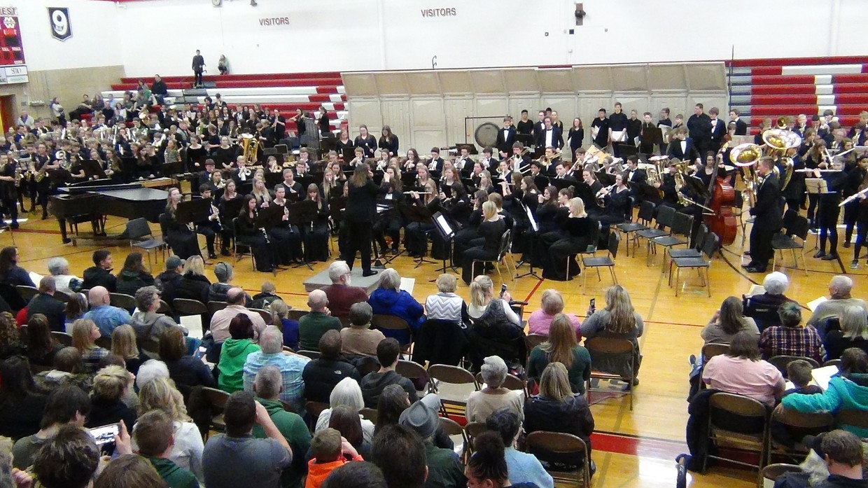 Mass Band picture of all groups