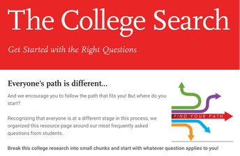 Tips for researching colleges!