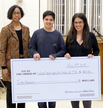 Freshman's Bar Mitzvah Project Benefits CHS Unified Sports and Life Skills
