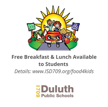 Free Breakfast & Lunch for Children