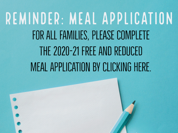 PCS Meal Application Form