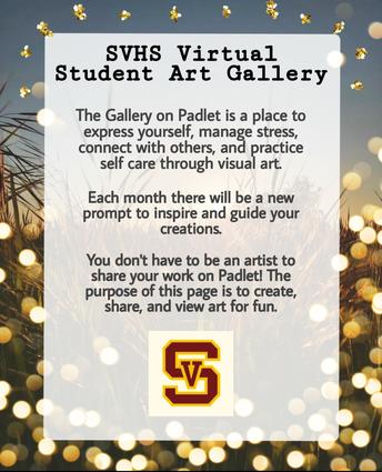 SVHS Virtual Student Art Gallery
