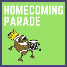 ALL SIS/SMS STUDENTS AND STAFF ARE WALKING TO REGIS STREET AT 1:55 PM TODAY FOR SHS HOMECOMING PARADE.  EVERYONE SHOULD BE BACK TO THE SCHOOL BY 2:40 PM