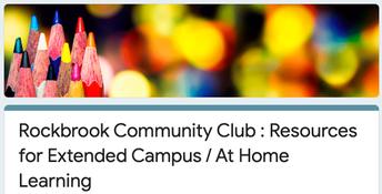 Additional Community Club Resources