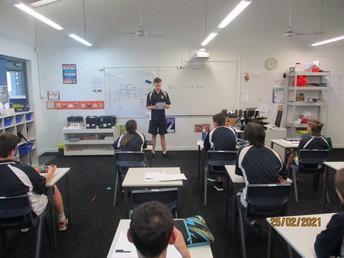 Liam - Student Councillor speech